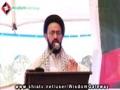 [یوم مصطفیٰ ص] Speech H.I. Sadiq Raza Taqvi - University of Karachi - 12 March 2013 - Urdu