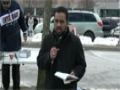 Toronto Protest For Sibte Jafar- Br. Alamdar Reciting Noha 23Mar2013 - English