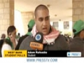 [11 April 2013] Palestinian political parties compete for university council seats - English