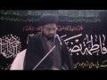[02] Seerat-e-Zahra (s) - 2nd Rabi-us-Sani 1434 A.H - Moulana Syed Taqi Raza Abedi - Urdu