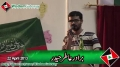 [یوم مصطفی ص] Noha Br. Atir Haider - Urdu University - 22 April 2013 - Urdu