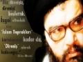 Şehit Abbas Musavi: Biz İmam Humeyni\'nin yolundayız...! - Turkish