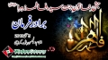 [جشن میلاد زہرا س] Manqabat Brother Farman - 5 May 2013 - Urdu