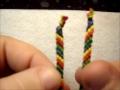 Tutorial 02 - Friendship Bracelet - Beginner - The Chevron (Double Chevron Base) English