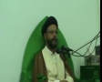 [05][Ramadhan 1434] H.I. Zaki Baqeri - Quran and clash of civilizations - 14 July 2013 - Urdu