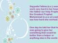 Tasbeeh of Sayeda Fatima Zahra a.s.English