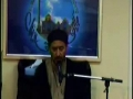 Ramadhan 2013 molana syed jan ali kazmi mj 5 effects of food in our lives toronto canada  Urdu