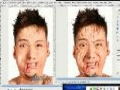 GIMP - How to remove wrinkles from your face in Gimp - English