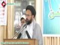 [Tanzeemi o Tarbiayati Convention] Speech H.I Sadiq Raza Taqvi - 7 April 2013 - Urdu