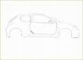 GIMP - Peugeot 206 Speed Draw - English