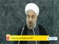 [27 Sept 2013] No nation should possess nuclear weapons: Rouhani - English