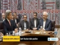 [27 Sept 2013] Iran FM: Kerry stressed Obama seeks negotiated solution - English