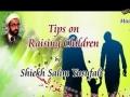 Tips On Raising Children - Sheikh Salim Yusufali - 06 Sept 2013 - English