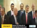 [23 Oct 2013] Damascus: No foreign party can decide leadership but Syrian people - English
