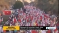 [25 Oct 2013] In Bahrain, thousands of protesters rally to show solidarity with detained journalists - English