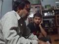 [Clip] Jab Imam Ayenge - Shaheed Ustad Sibte Jaffer Zaidi teaching Syed Ali Safdar - Urdu