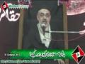 [31 Oct 2013] ہدفمند عزاداری کیوں اور کیسے؟ -H.I Ali Murtaza Zaidi - Urdu