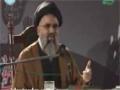 [01] Muharram 1435 Azadari Tahreek-e-Zainabi عزاداری تحریک زینبی Ustad Syed Jawad Naqavi - Urdu
