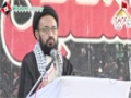 [یوم حسین ع] Speech : H.I Sadiq Raza Taqvi - 02 September 2013 - Sindh Medical Collage - Urdu