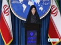 [09 Dec 2013] Iran Foreign Ministry Spokeswoman Weekly Press Conf. (P.1) - English