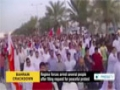 [13 Dec 2013] Bahraini regime forces arrest several people after filing request for peaceful protest - English