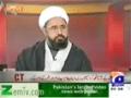 [Talk Show] Ulmah Chahein To Dehshat Gardi Khatam Hosakti Hai - H.I Amin Shaheedi - 18th December 2013 - Urdu