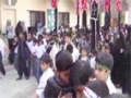 [یوم حسین ع] Majlis-e Aza O Juloos - 07 Muharram 1435 - Hadi School, Karachi - Urdu