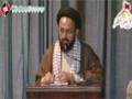 [یوم حسین ع] Speech : H.I Sadiq Raza Taqvi | MWM PAk - 17 December 2013 - Dawood Engineering University - Urdu