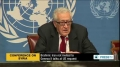 [20 Dec 2013] Brahimi: Iran not invited to Geneva II talks at US request - English