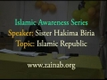 **Good** Islamic Republic by Sister Hakima Biria -Aug08- English
