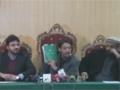 [02] مجلس وحدت مسلمین و سنی اتحاد کونسل کی مشترکہ نیوز کانفرنس - Urdu