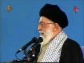 Ayatollah Khamenei warns against U.S U.K and Arab States - Persian sub English