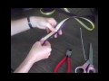 How To Make a Bow - Double Ribbon Bow English