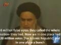[04] Islamic Revolution Anniversary 2014 - Clip : Islamic Supreme Leader VS Dictatorship - Farsi sub English
