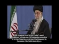 [English Sub] Ayatullah Khamenei condemns desecration of grave of Hazrat Hujr ibn Adi companion of Prophet Muhammad [s.w