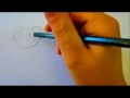 Flower Tutorial - How To Draw Flowers - Poppy Flowers - English