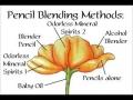 Colored Pencil Blending Methods - English