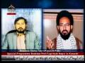 علامہ صادق رضا تقوی موجودہ حالات پر اھل بیت ٹی وی سے گفتگو - Urdu