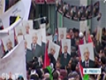 [17 Mar 2014] Ramallah rally voices support for israel PA direct talks - English