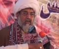 [01] پنو عاقل : علامہ ناصر عباس جعفری کا جلسہ سے خطاب - Urdu