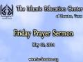 Friday Sermon (02 May 2014) - H.I. Hurr Shabbiri - IEC Houston, TX - English