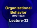 [32] Organizational Behavior – Urdu
