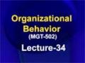[34] Organizational Behavior – Urdu