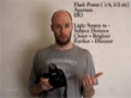 {42} [How To use Canon Camera] Flash Exposure Variables - English