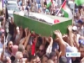 [04 July 2014] Thousands attend funeral of murdered Palestinian teen - English