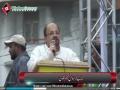 [Pakistan Quds Day 2014] Karachi, Pakistan : Speech Mr. Firdos Shamim Naqvi - Urdu