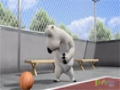 [09] Animated Cartoon Bernard Bear - Basketball - All Languages