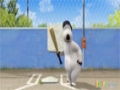 [14] Animated Cartoon Bernard Bear - Baseball - All Languages