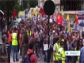 [17 Aug 2014] Protesters in London slam the atrocities committed by ISIL Takfiri militants - English
