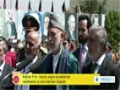 [19 Aug 2014] Karzai calls on two men competing to succeed him to end their dispute - English